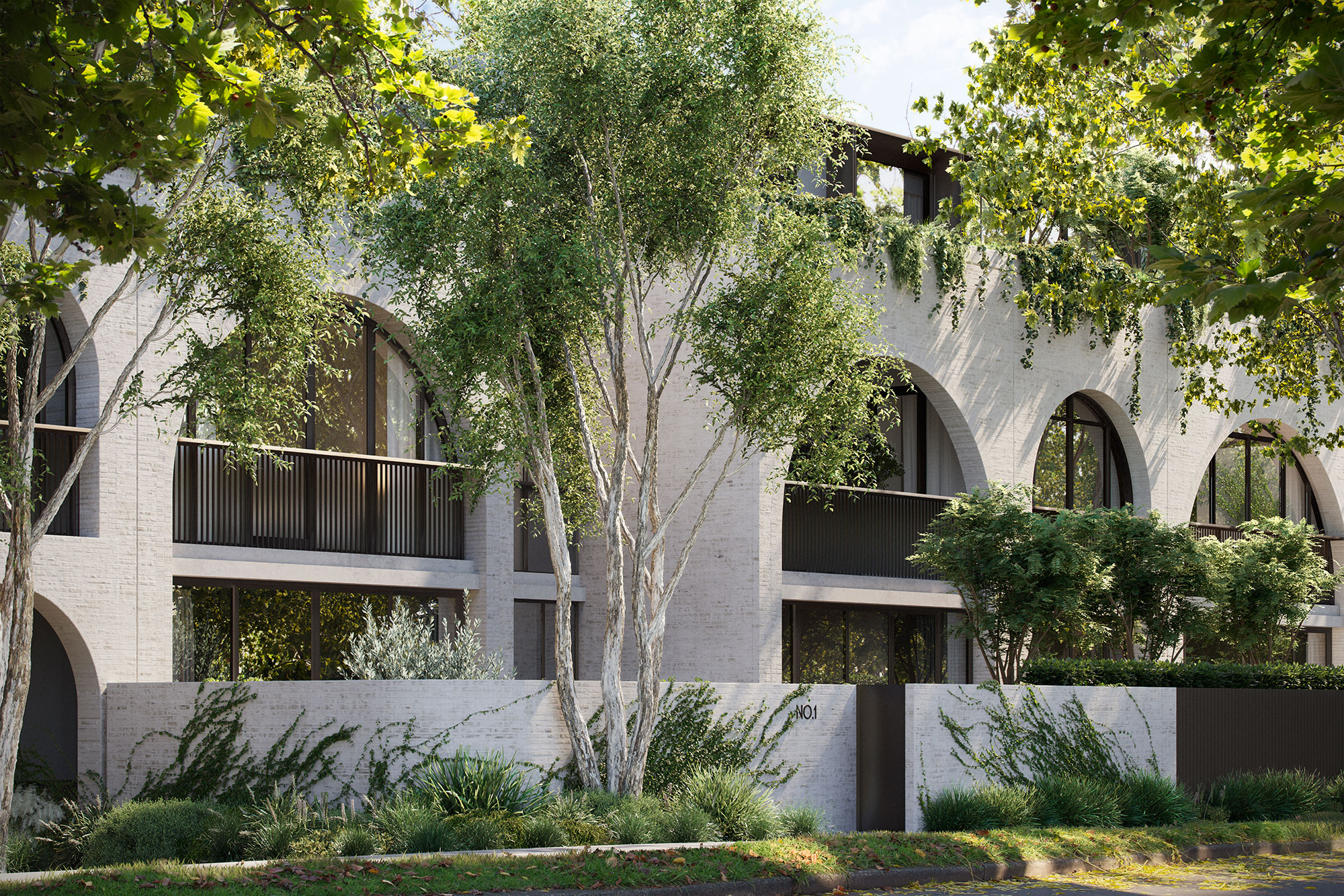 Willow embraces a tranquil, tree-lined street in vibrant Brighton